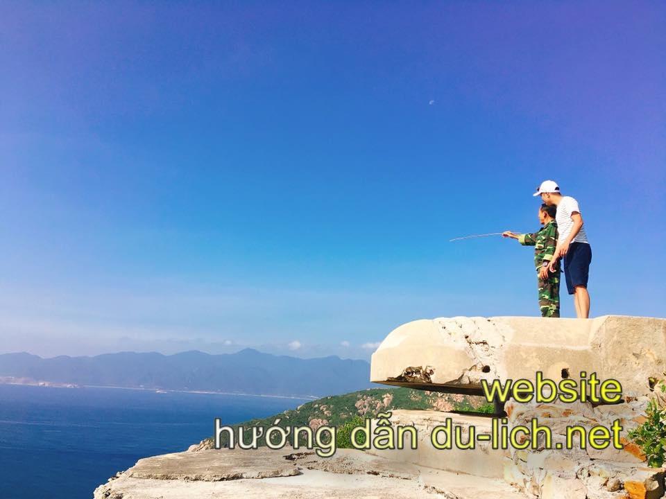 Review đảo Bình Ba: biển trời trong xanh
