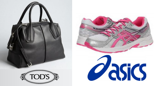 The Duchess Of Cambridge's TOD'S D-Styling Bag and ASICS Gel Trainers