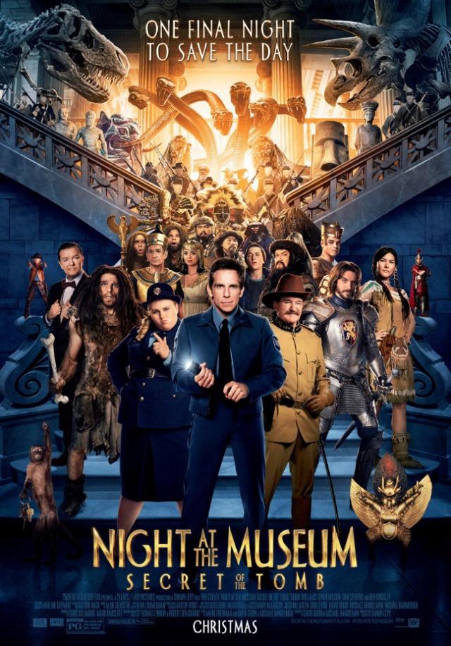 Đêm Ở Viện Bảo Tàng 3: Bí Mật Hầm Mộ - Night at the Museum: Secret of the Tomb
