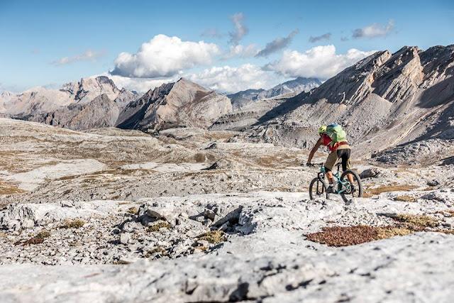 Downhill Track Cima Josef MTB