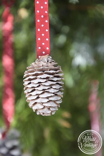 Weihnachtsschmuck aus Naturmaterialien basteln