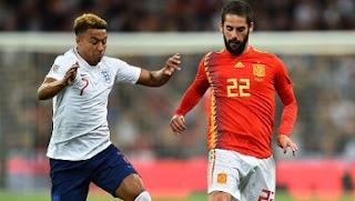 Inggris vs Spanyol 1-2 Highlights