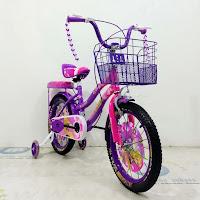 Sepeda Anak Emerson EM9903RM Tread Flower  City Bike
