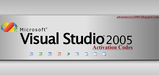 MS-Visual Studio 2005 Activation