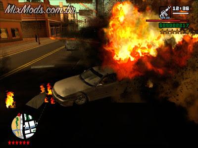 gta sa mod cleo rhino atira atirando tanques tank fire shoot