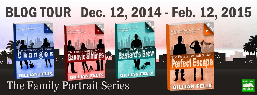Blog Tour: The Family Portrait Series by Gillian Felix, with excerpts, guest post and giveaway!