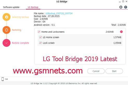 LG Tool Bridge 2019 Latest Download Free