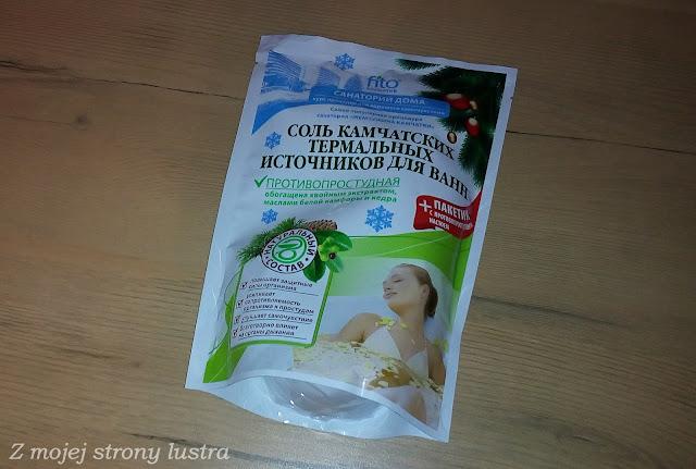 Kamczacka sól przeciw przeziębieniom Gorące źródła Fitokosmetik
