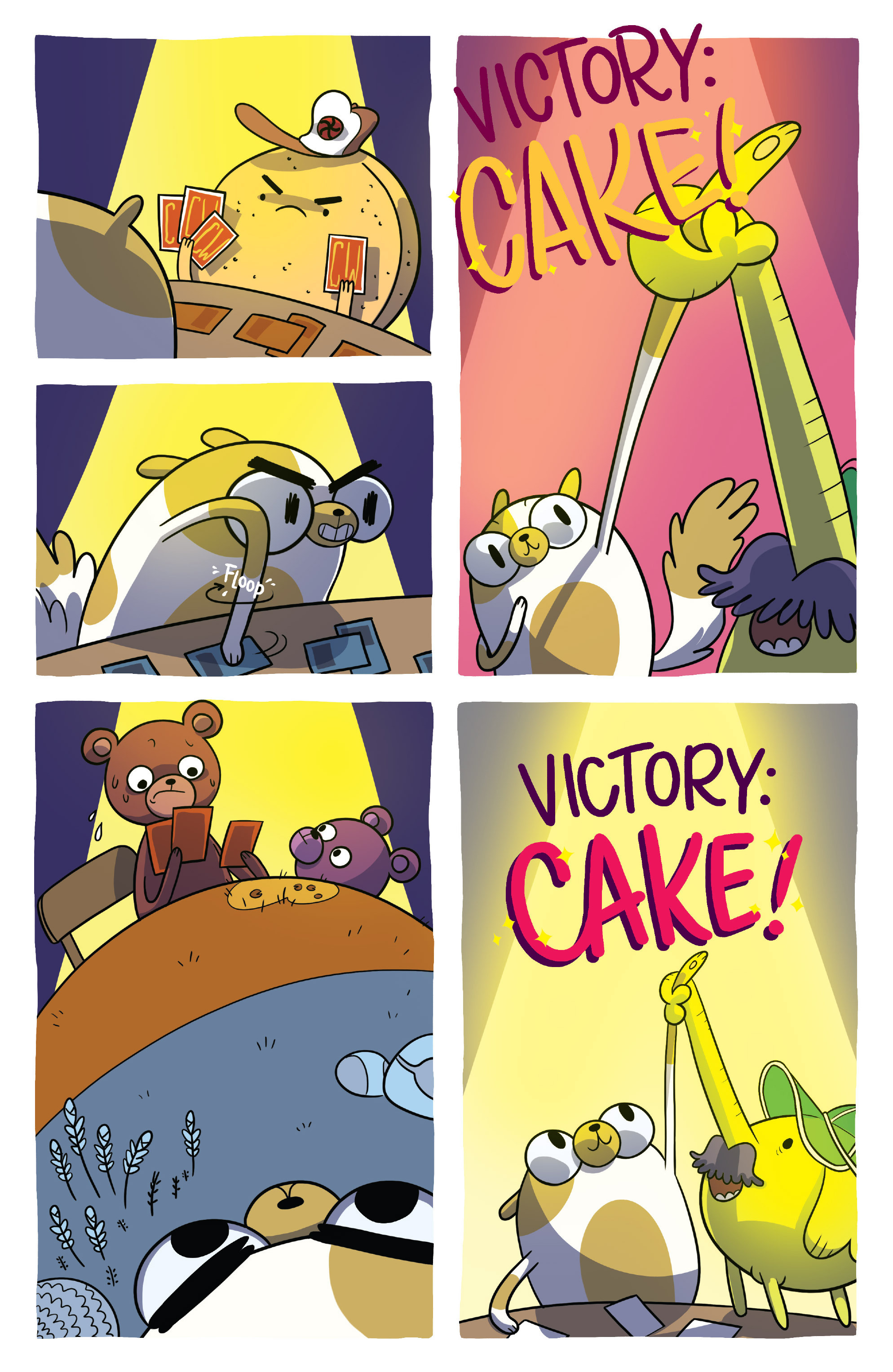Read online Adventure Time Fionna and Cake Card Wars comic -  Issue #4 - 19