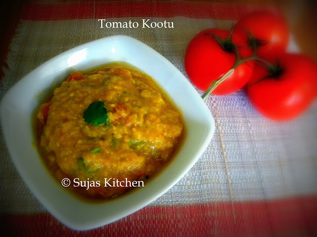 Thakkali or Thakkali-Kai (Tomato) Kootu