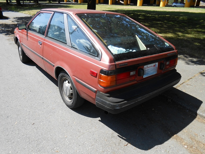 Seattle S Parked Cars 1983 Datsun Nissan Sentra Coupe But the sentra doesn't have as much rear legroom as the toyota corolla or honda civic. nissan claims the 2021 sentra gets 29 to 39 mpg. seattle s parked cars blogger