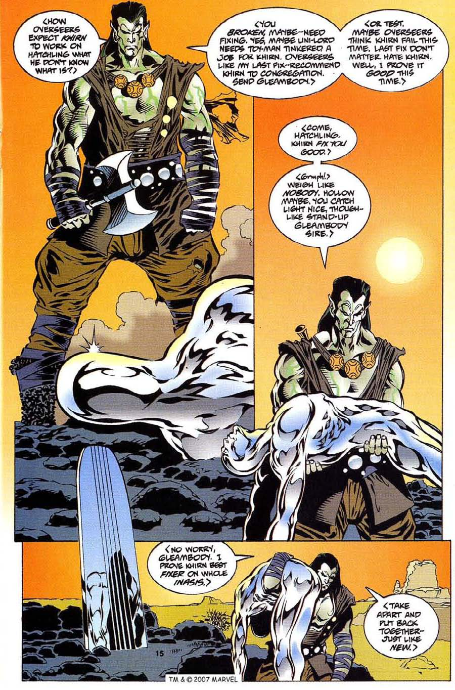 Read online Silver Surfer (1987) comic -  Issue #112 - 17