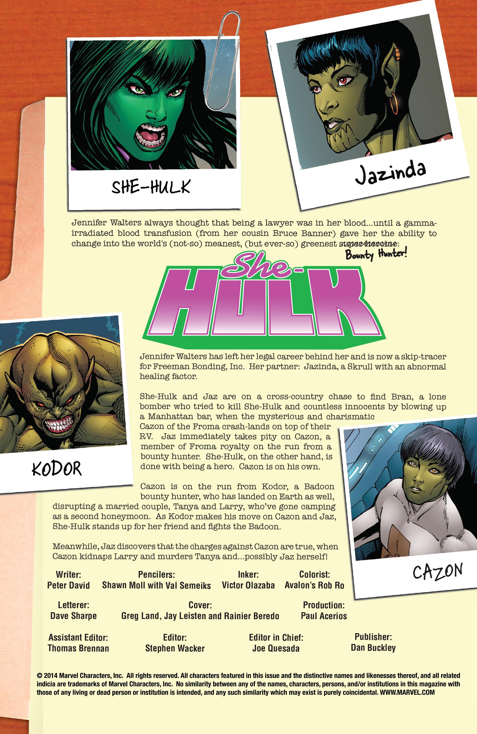Read online She-Hulk (2005) comic -  Issue #26 - 2