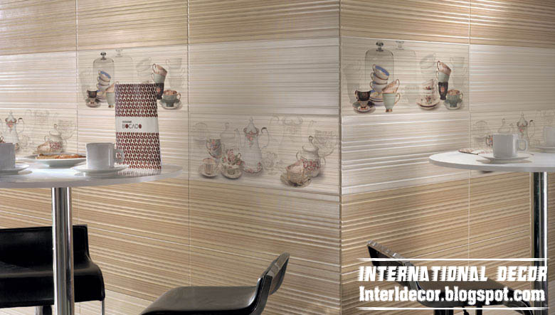 Contemporary kitchens wall ceramic tiles designs, colors ...