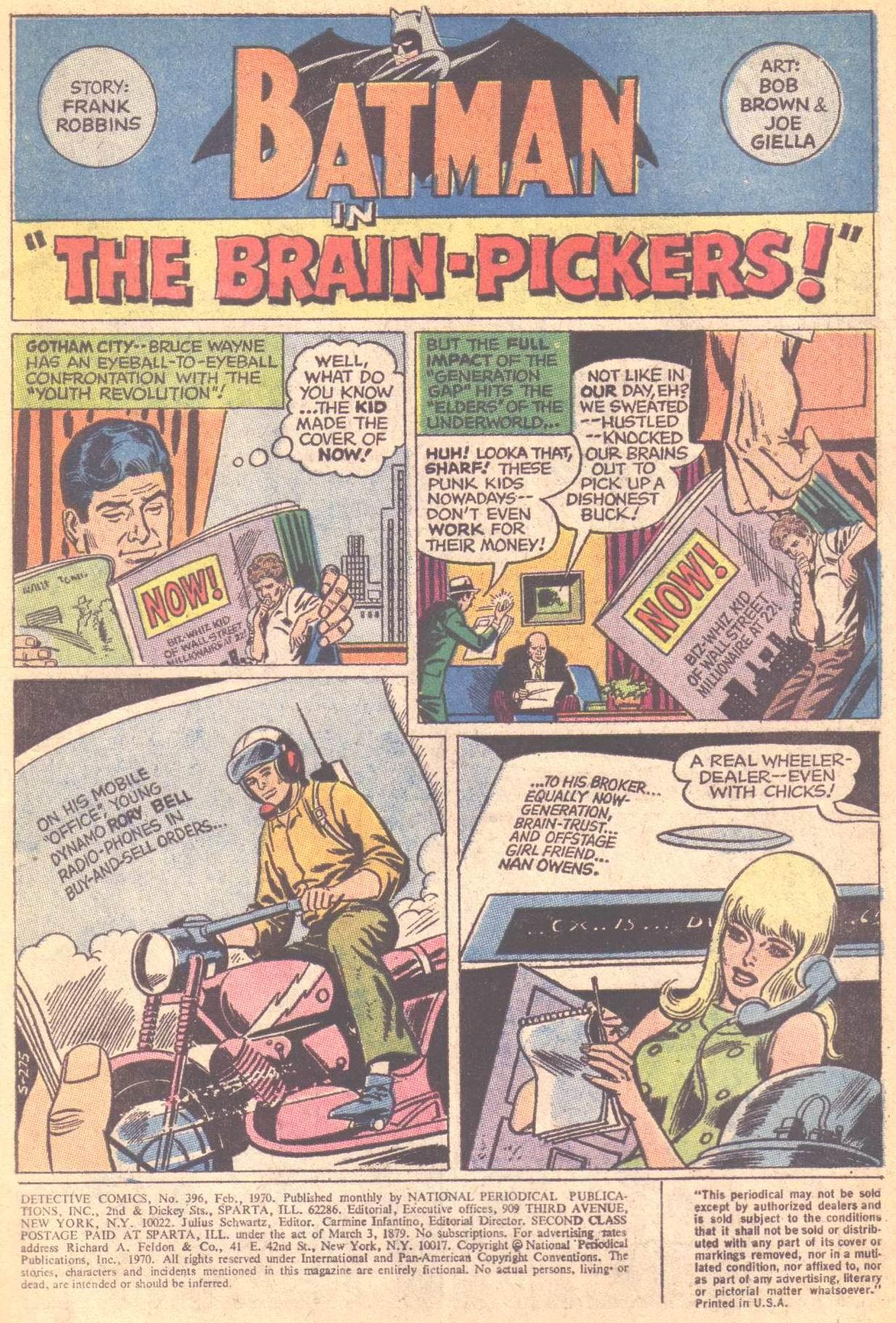 Detective Comics (1937) 396 Page 2
