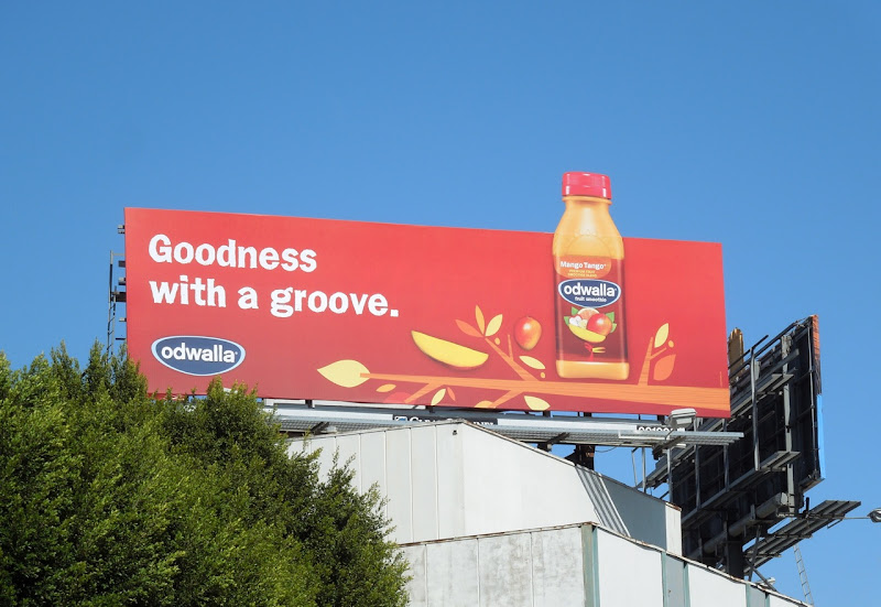 Goodness with a groove Odwalla special extension billboard
