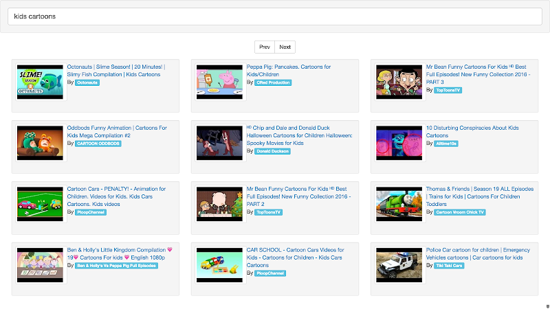 AngularJS: Instant YouTube video search API V3 Version tutorial – W3