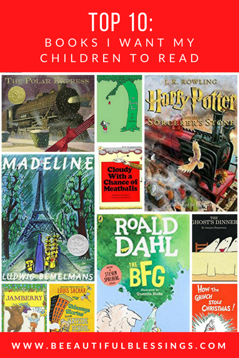 Beeautiful Blessings Top 10  Books I Want My Children -2699