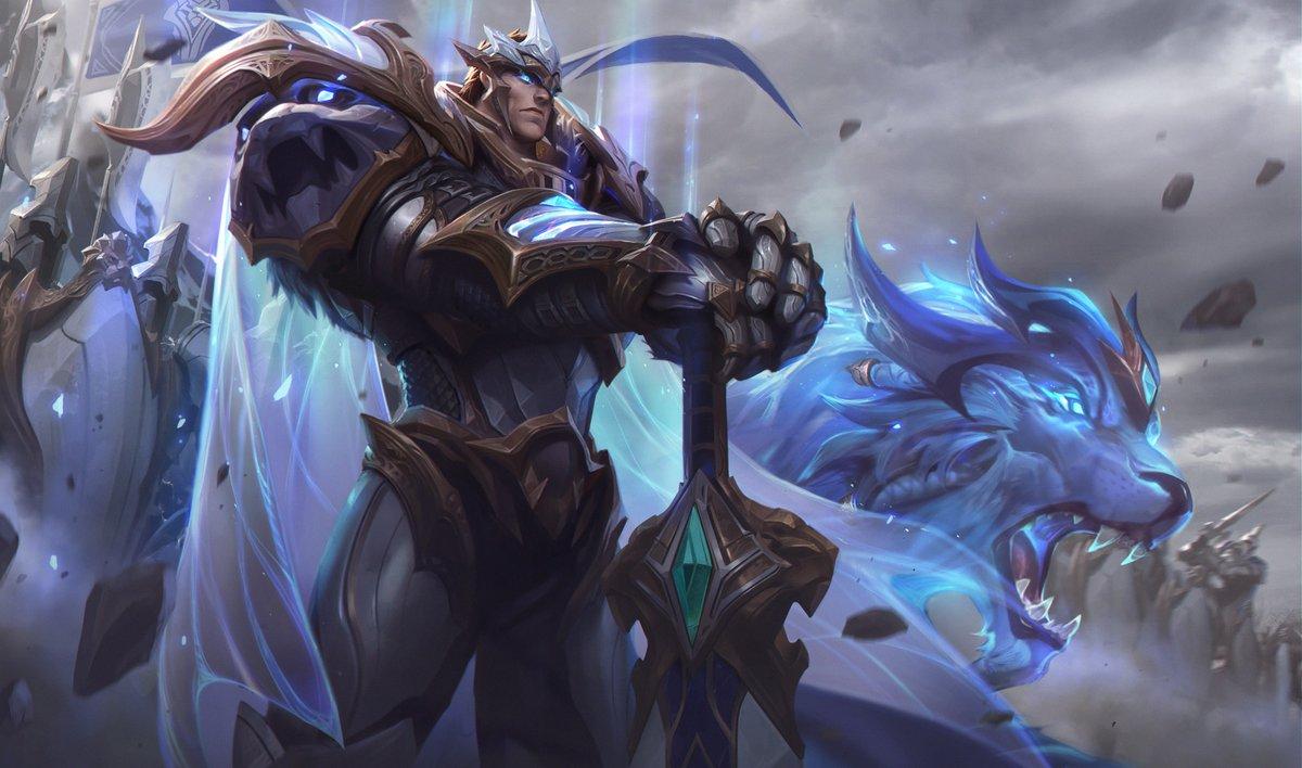 Surrender at 20: VS 2018: God-King Darius & God-King Garen Splash Art & Login Themes