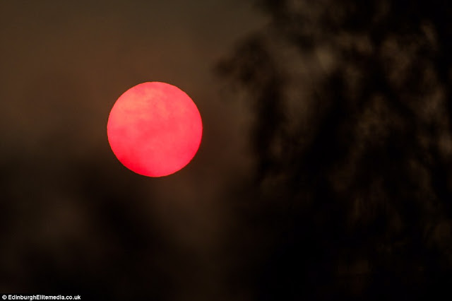 Signs and wonders! Red October: Afternoon turns dark and the Sun turns blood red over the UK  4564791F00000578-4985116-image-a-20_1508163290368
