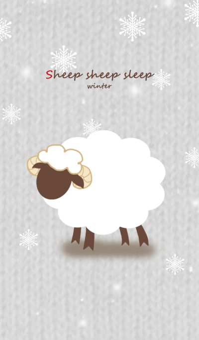 sheep sheep sleep (Winter Version) *