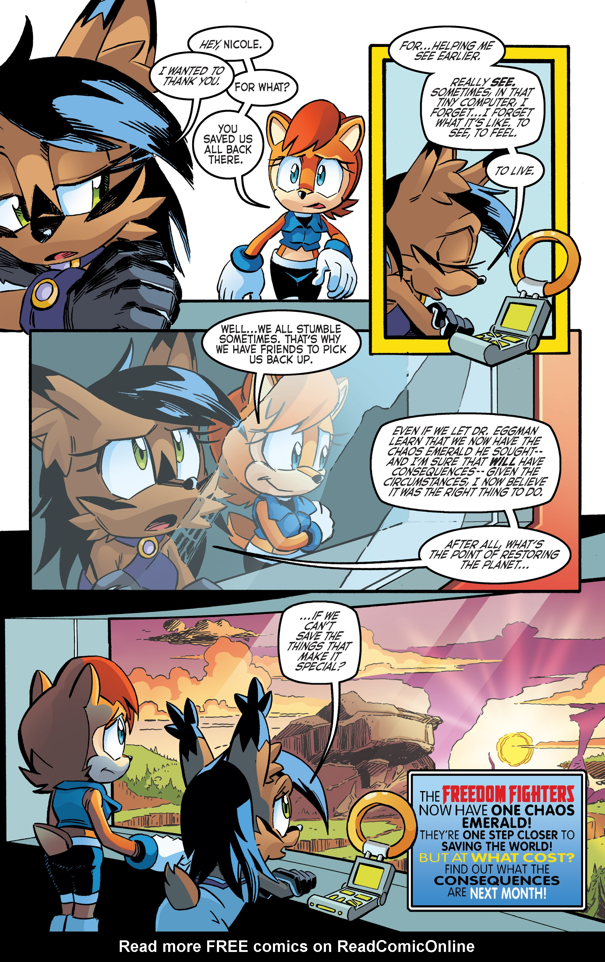 Read online Sonic The Hedgehog comic -  Issue #262 - 22