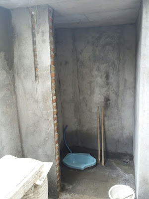 Pembuatan Tempat Wudlu musholla At tanwir