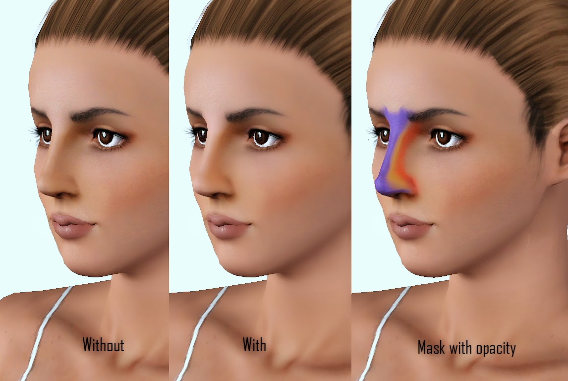 My Sims 3 Blog Nose Contouring Blush By Cleos