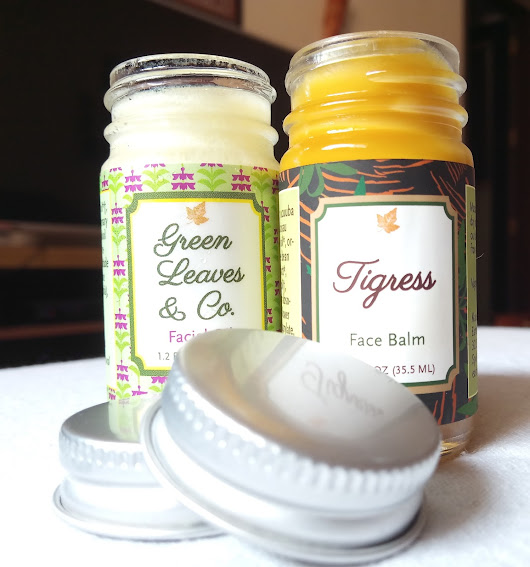 Detox Duo: Earthwise Beauty Green Leaves and Co. Facial Oil + Tigress Face Balm