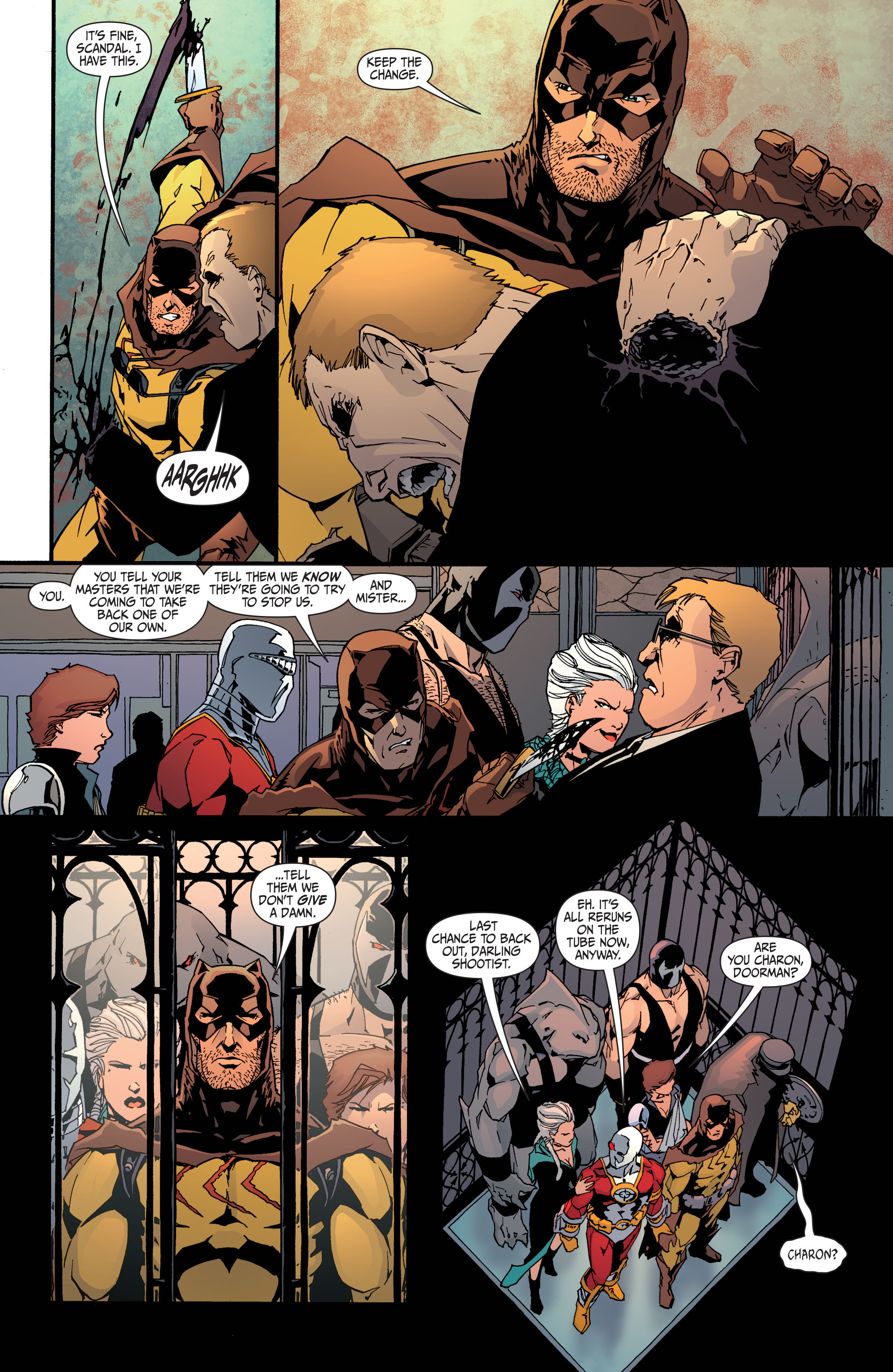 Read online Secret Six (2008) comic -  Issue #31 - 22