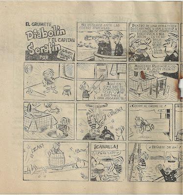El Capitán Serafín y el Grumete Diabolín (Segura) Juguetitos nº 3, febrero de 1955