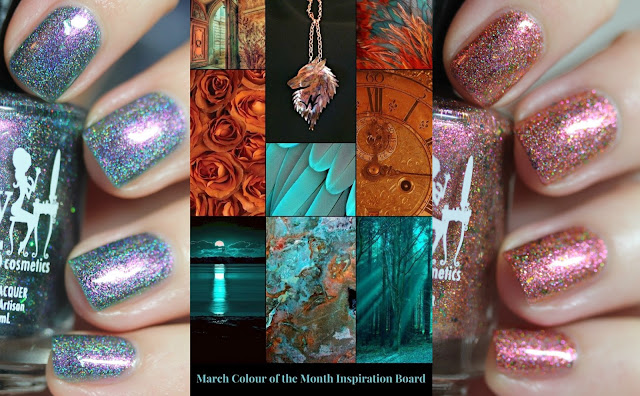Girly Bits March 2018 Colours of the Month
