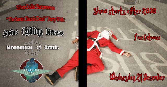 [News] Spine Chilling Breeze, Movement of Static, Blackberry Jam (21/12 Thessaloniki)