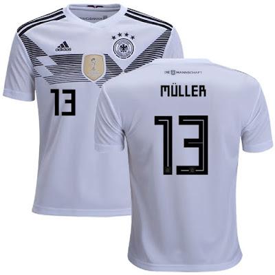 Jersey Germany New 2018