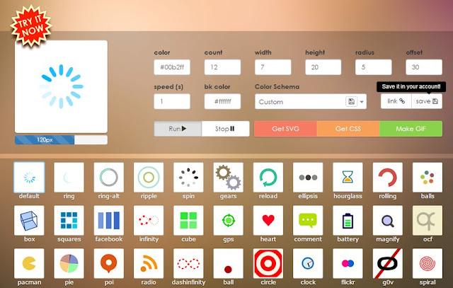 loading-io-CSS 製作各種 Ajax 載入動畫集錦