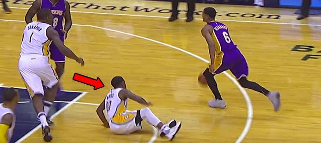 Jordan Clarkson Drops Aaron Brooks with NASTY Crossover! (VIDEO)