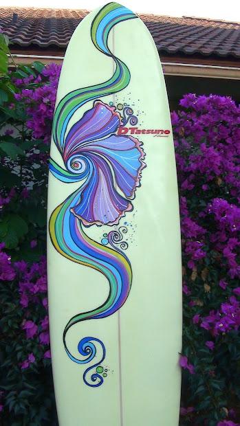 Surfboard Art Designs