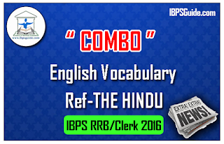 "English Vocabulary (Meaning-Usage) Reference ""The Hindu"" - COMBO"