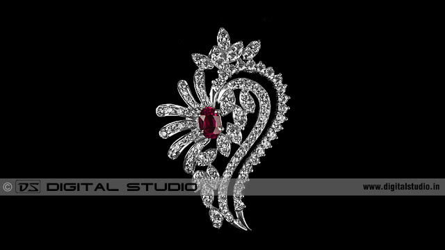 Real diamond broach