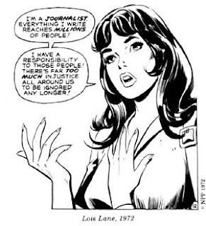 Lois Lane's speech in 1972 about being a reporter