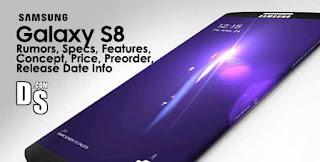 Harga dan Spesifikasi Samsung Galaxy S 8 2017 RAM 4GB