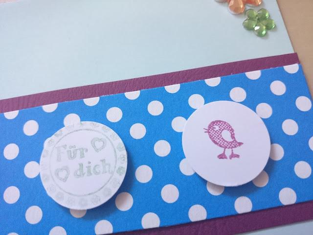 [DIY] Dots & Birds Birthday - Vogel-Grußkarte Für Dich