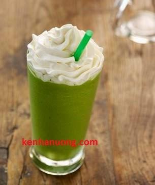 Món trà xanh ( green tea ) - Công thức và cách làm