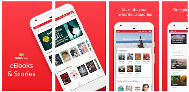 Airtel Books - ebooks and stories - YouthApp