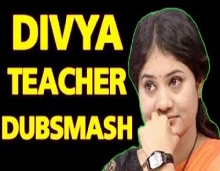 Neeya Naana Divya Teacher Dubsmash