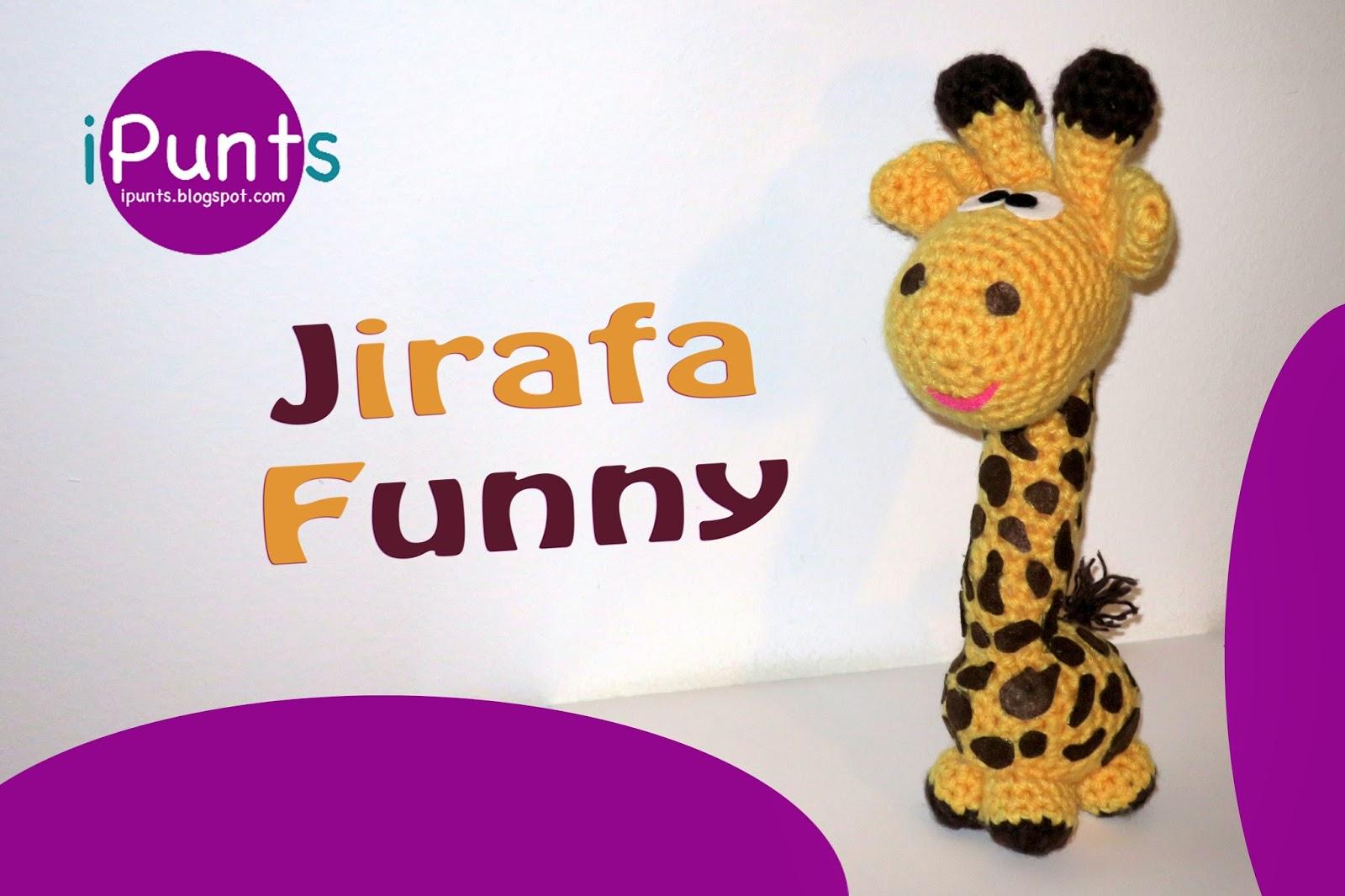 iPunts: Amigurumis: Jirafa Funny