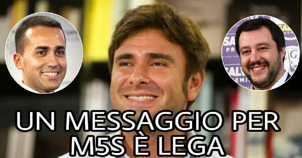 Ultim'ora: Di Battista ha un messaggio per M5S e LEGA. Siete d'accordo con lui?