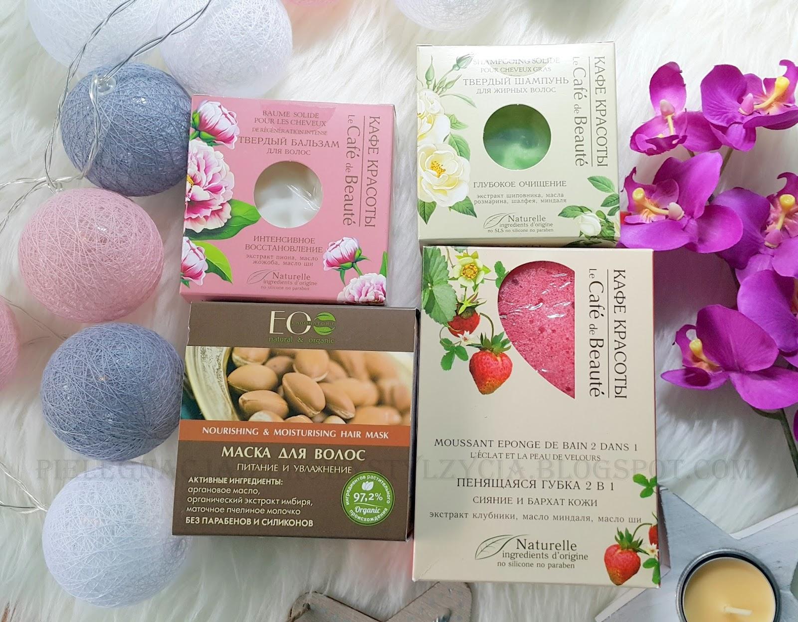 Zakupy - EC Lab, DR. KONOPKA'S, Le Cafe de Beaute, Planeta Organica | Naturalne kosmetyki