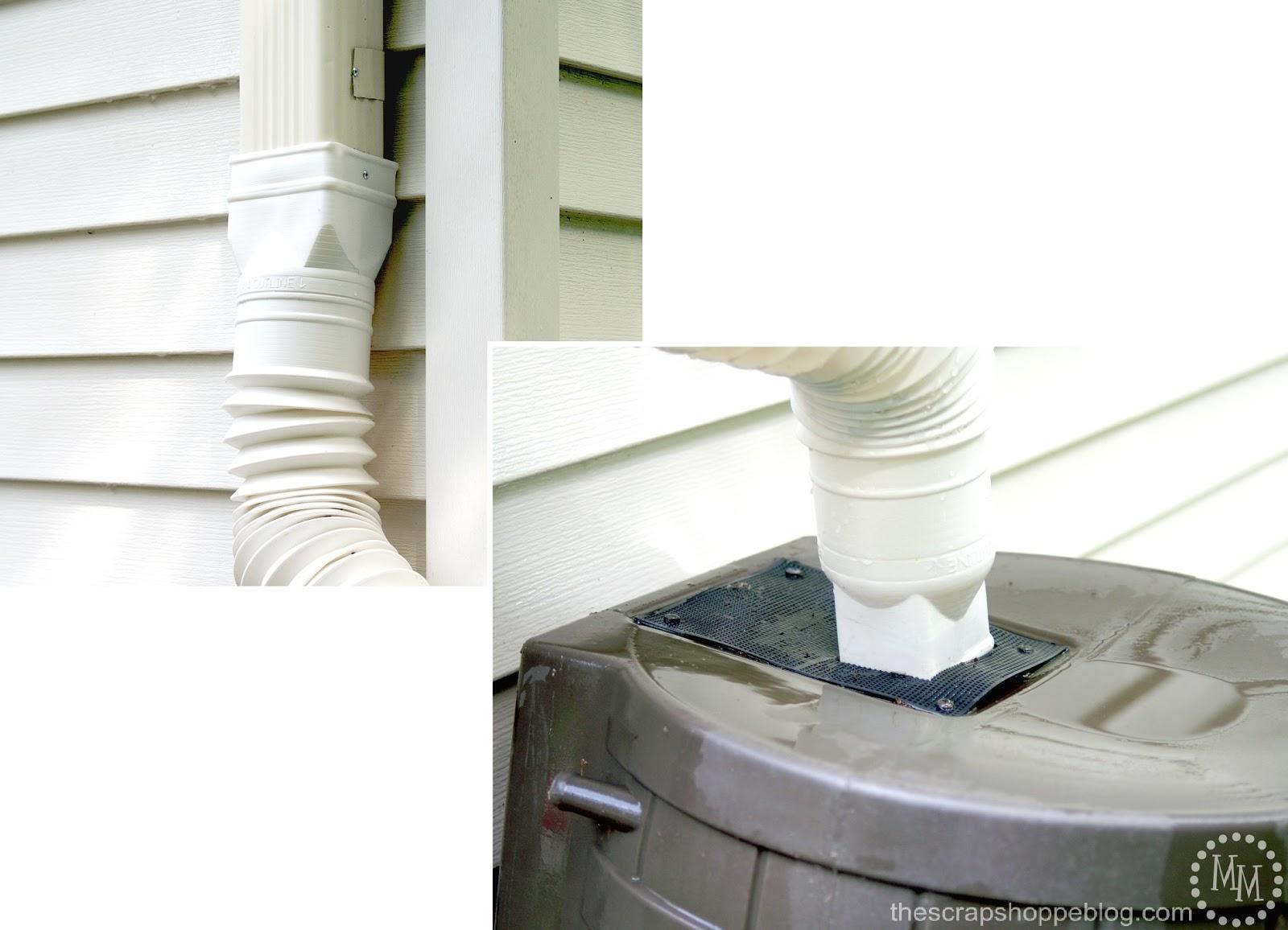 How To Install A Rain Barrel The Scrap Shoppe