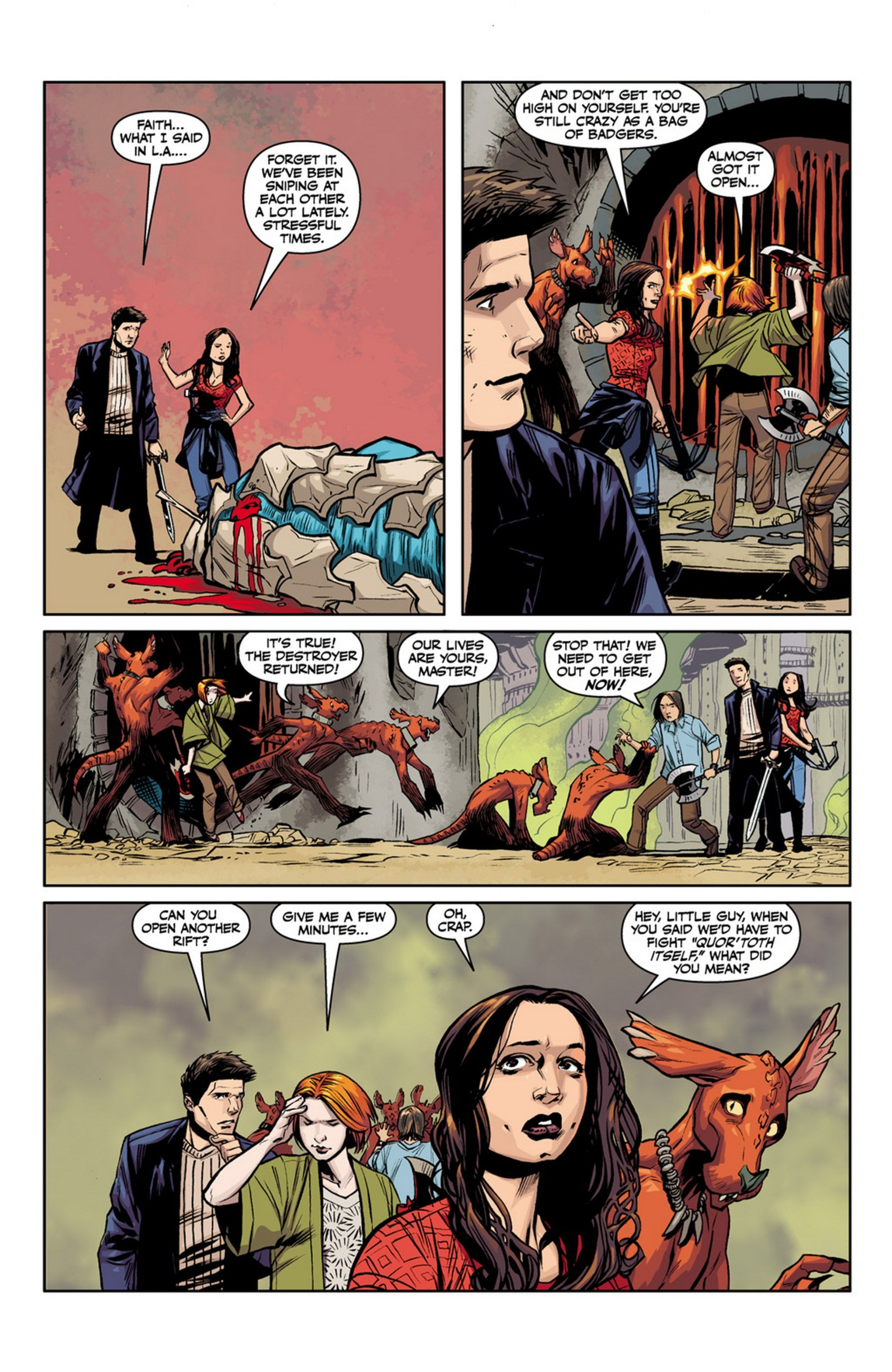Angel and Faith issue 13 - Page 11